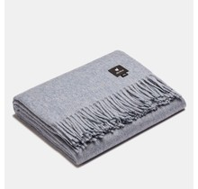 ALPAKA, Classique, Plaid en laine d'alpaga - Bleu clair - 150 x 200