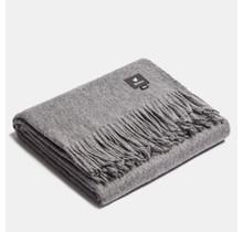 ALPAKA, Classique, Plaid en laine d'alpaga - Gris - 150 x 200