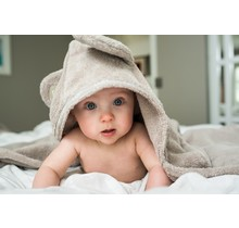 Baby & Cape Towel - Sand - 0-5 years