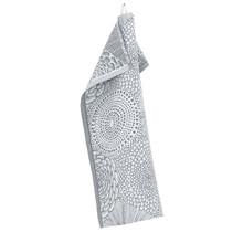 RUUT - Полотенце кухонное - серый / белый - 48x70