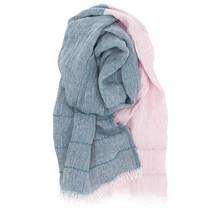 TSAVO sjaal roze-petroleum - 70x200