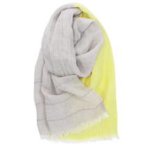 TSAVO шарф - Лен / желтый - 70x200