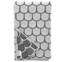 PAANU - Банное полотенце - Белый серый - 75x150