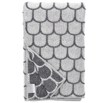 PAANU - Bath Towel - White/Grey - 75x150