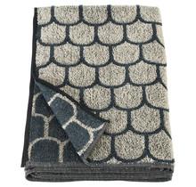 PAANU - Банное полотенце - черное белье - 75x150