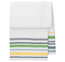 LEWA - Bath & Beach towel - yellow / green - 95x180