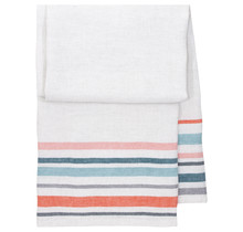 LEWA - Bath & Beach towel - blue / red - 95x180