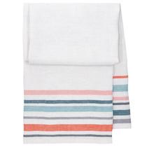 LEWA - Serviette de bain et de plage - bleu / rouge - 95x180