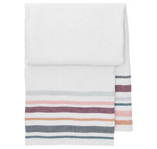 LEWA - Bath & Beach towel - grey / bordeaux - 95x180
