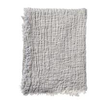 DUO - Katoenen plaid - grijs - 130x170