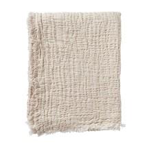 DUO - Cotton throw - beige - 130x170