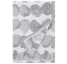 SADE - Serviette de bain et de plage - blanc / gris - 95x180