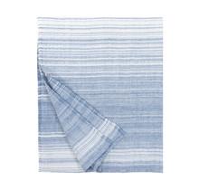 ULAPPA - Bade & Strandtuch - weiss / blau - 90x180