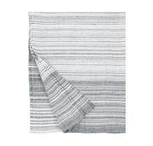ULAPPA - Serviette de bain et de plage - blanc / gris - 90x180