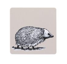 Miiko - HEDGEHOG - Coaster hedgehog - birchwood - 10x10