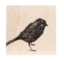 Miiko - BIRD - Onderzetter Vogel - berkenhout - 10x10