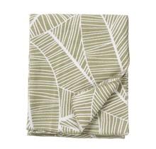 PLANT - Katoenen plaid - groen - 140x180