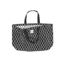 PUIKKO - Bag - black/white - 40x60