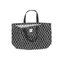 PUIKKO - Tas - zwart/wit - 40x60