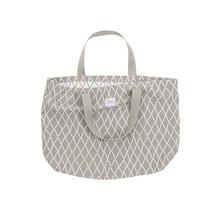 PUIKKO - Bag - beige/white - 40x60