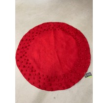 DEKORANDO Christmas tree carpet, 108cm round