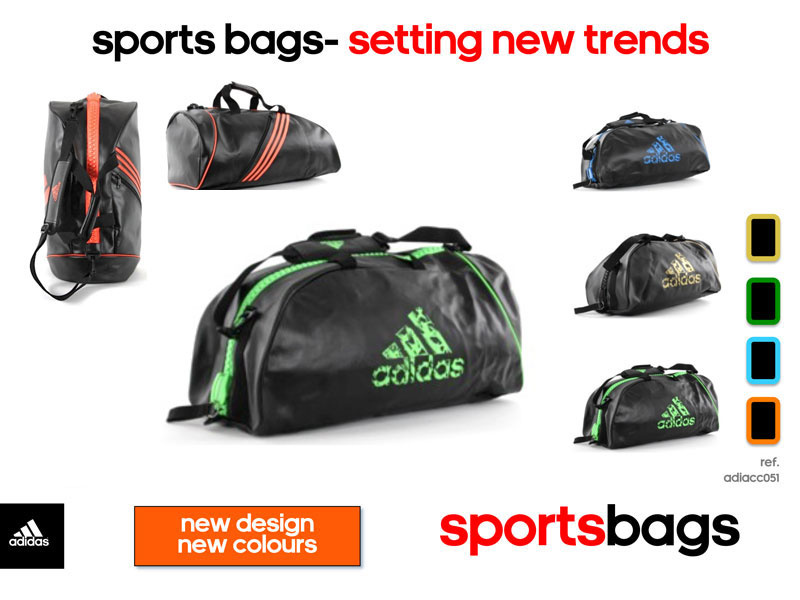 Adidas adidas Super Sporttas Zwart/Groen Medium