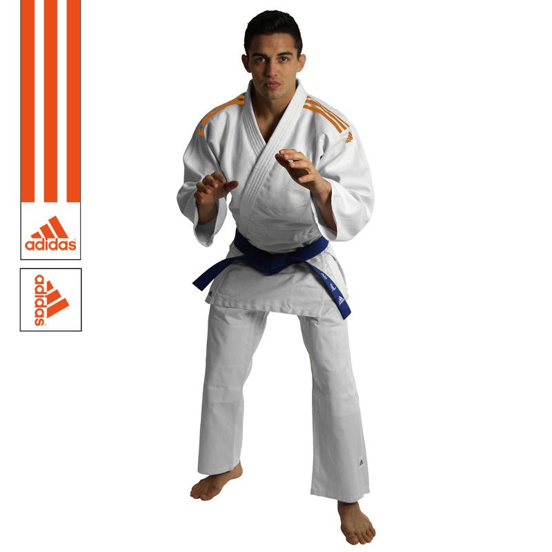 Adidas Adidas Judopak J350 Club Wit/Oranje