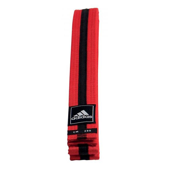 Adidas adidas Taekwondo Poomsae Band Rood/Zwart