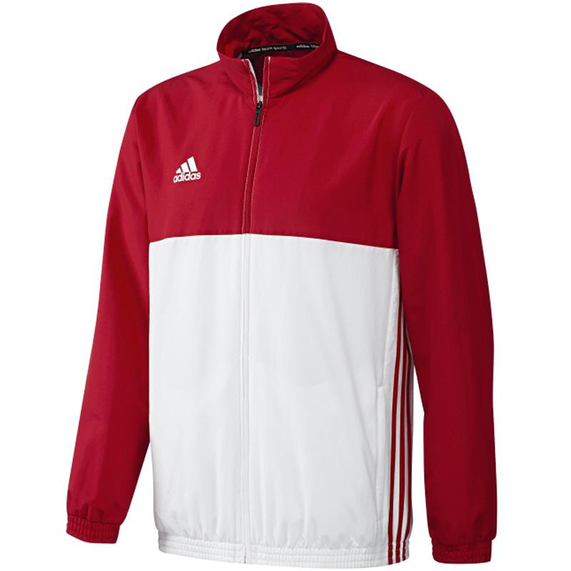 Adidas adidas T16 Team jack Men Rood/Wit Extra Large