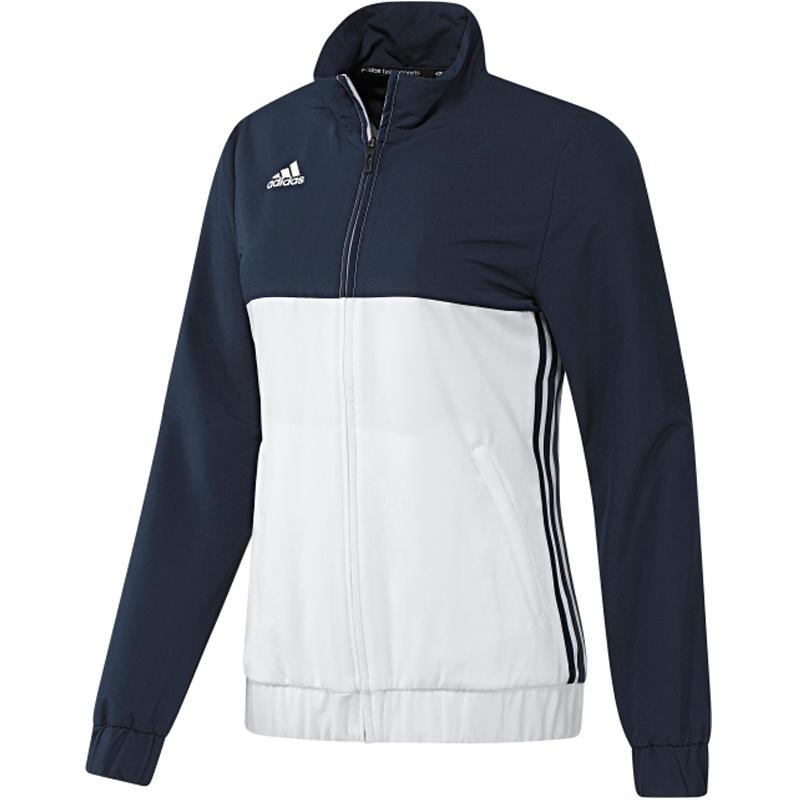 Adidas adidas T16 Team jack Women Blauw/Wit Extra Small