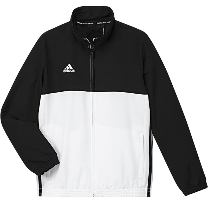Adidas adidas T16 Team jack Youth Zwart/Wit 164