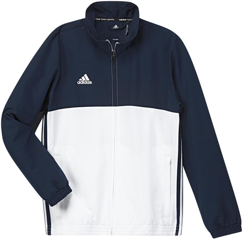 Adidas adidas T16 Team jack Youth Blauw/Wit 176