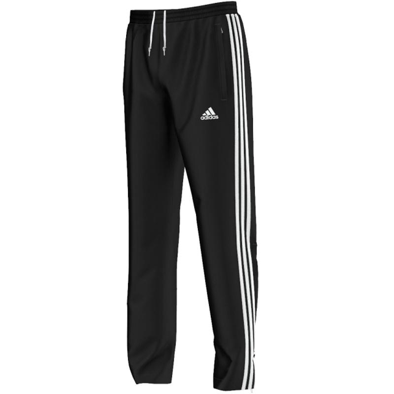 Adidas adidas T16 Team Trainingsbroek Youth Zwart/Wit 164