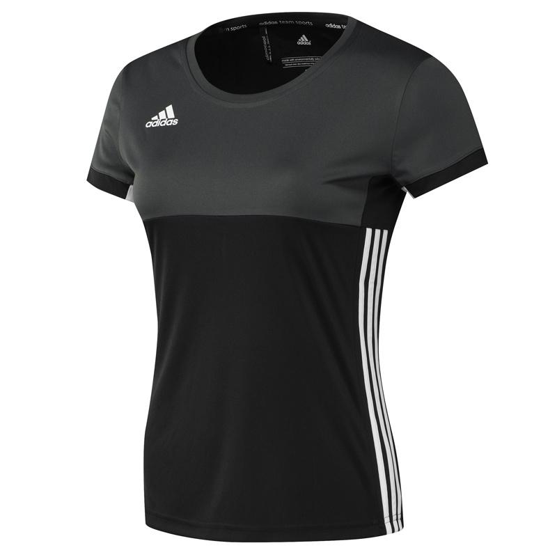 Adidas adidas T16 Clima Tee Women Zwart maat XL