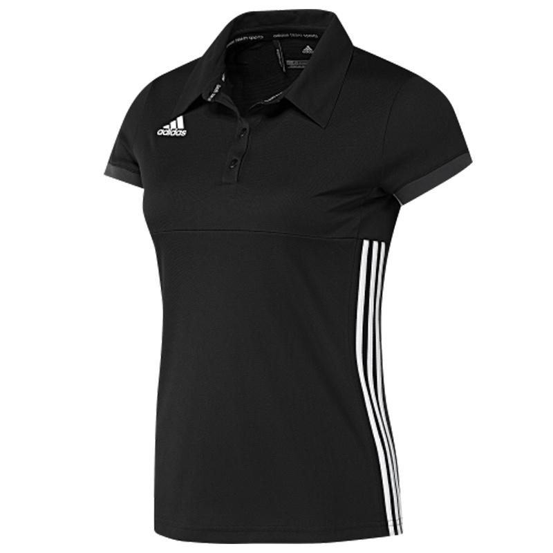 Adidas adidas T16 Team Polo Women Zwart maat XL
