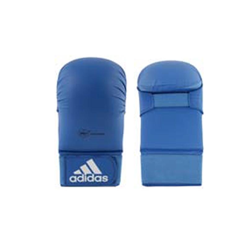 Adidas adidas WKF Karatehandschoen Zonder Duim Blauw