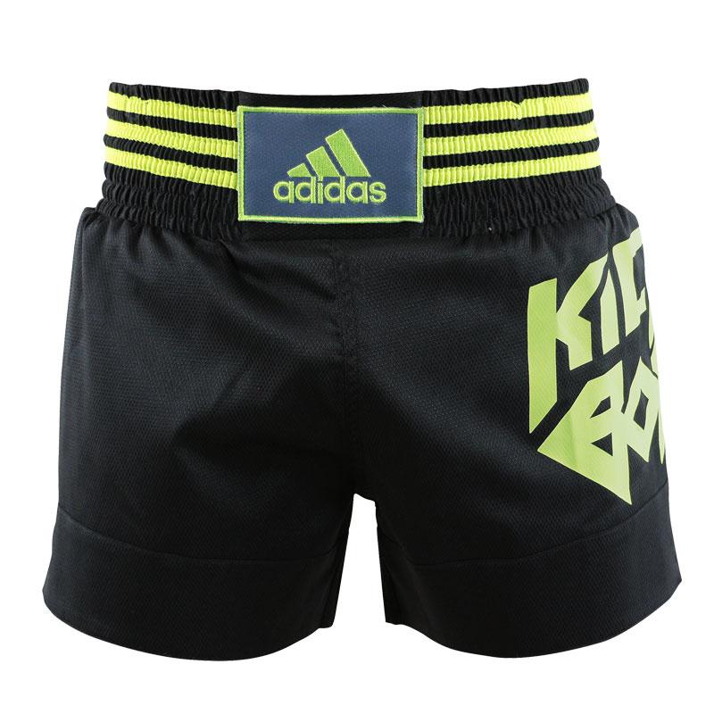 Adidas adidas Kickboksshort SKB02 Zwart/Geel