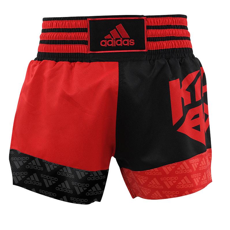 Adidas adidas Kickboksshort SKB02 Shock Red/Zwart