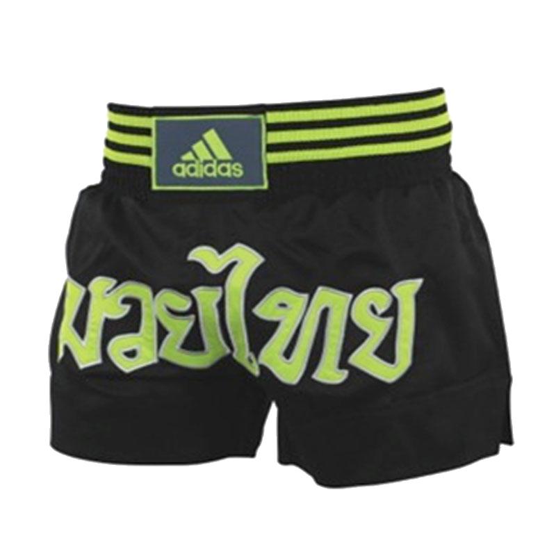 Adidas adidas Kickboksshort STH02 Zwart/Geel