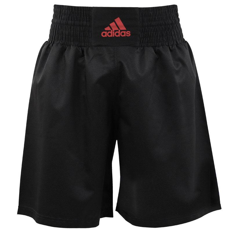 Adidas adidas Multi Boxing Short Zwart/Shock Red