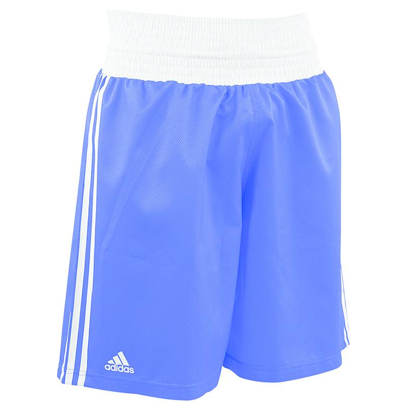 Adidas adidas Amateur Boxing Short Lightweight Blauw/Wit