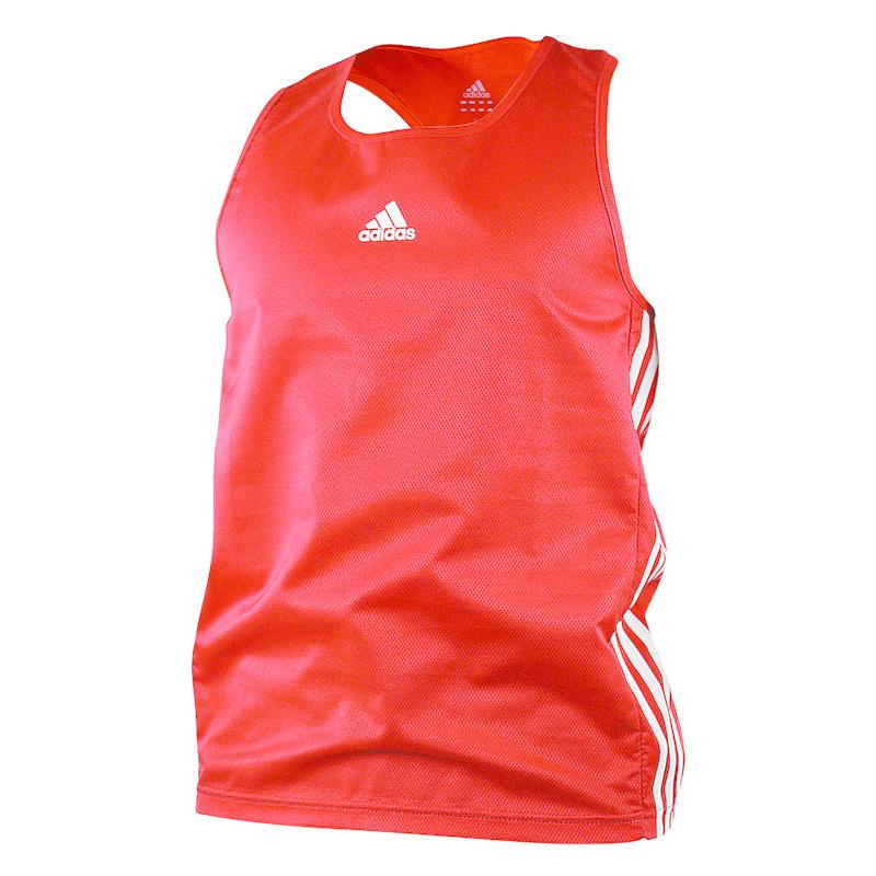 Adidas adidas Amateur Boxing Tank Lightweight Rood/Wit