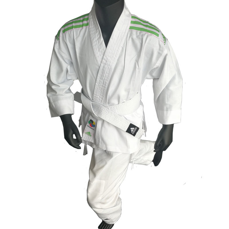 Adidas adidas Karatepak K200 Kids Wit/Groen