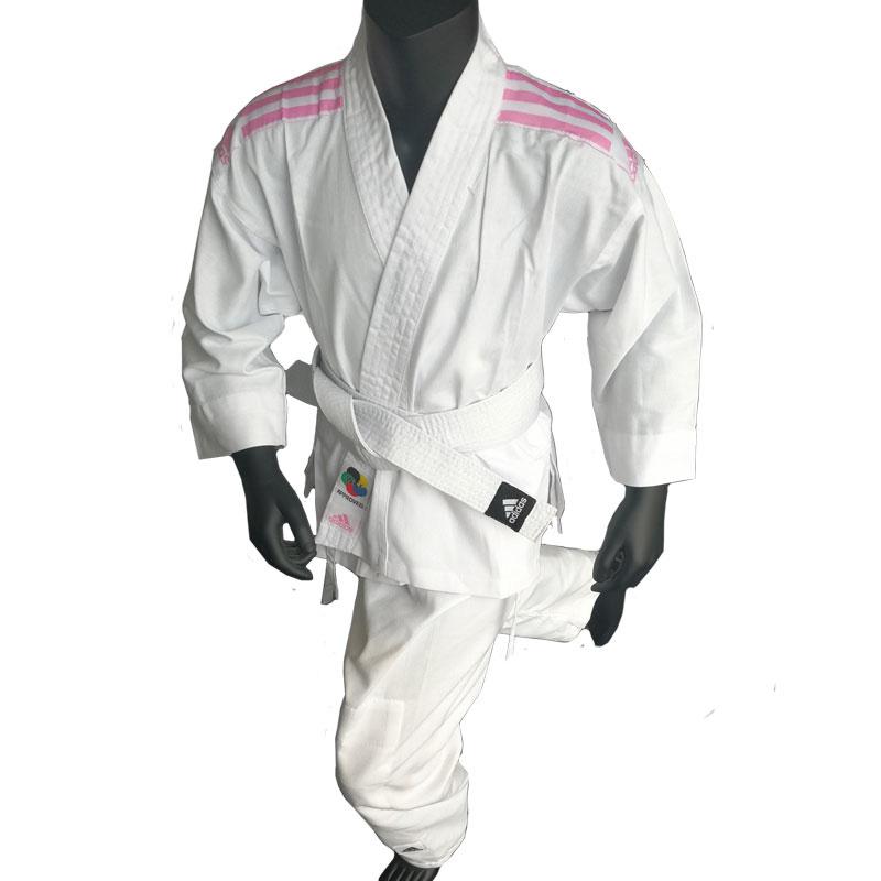 Adidas adidas Karatepak K200 Kids Wit/Roze