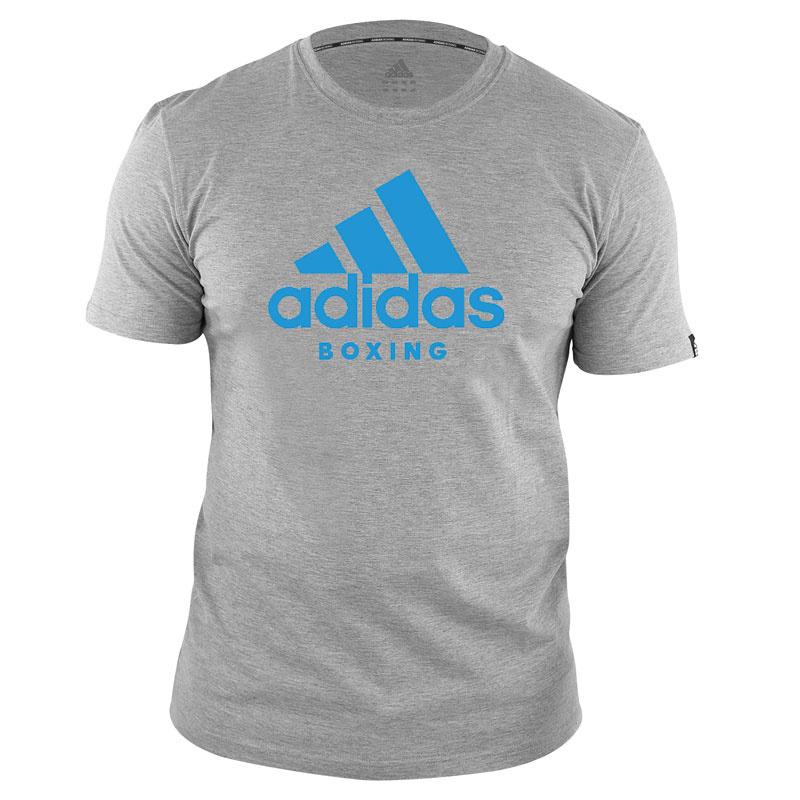 Adidas adidas T-Shirt Boxing Community Grijs/Blauw