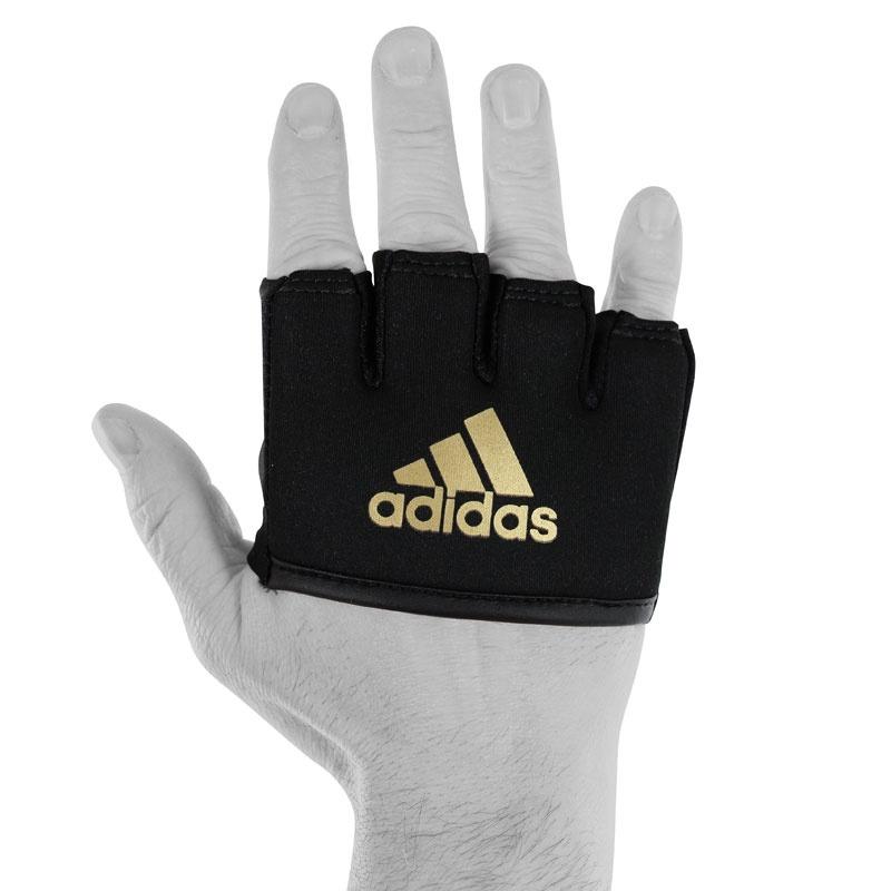 Adidas adidas Knokkelbeschermer Met Gel Zwart/Goud One Size