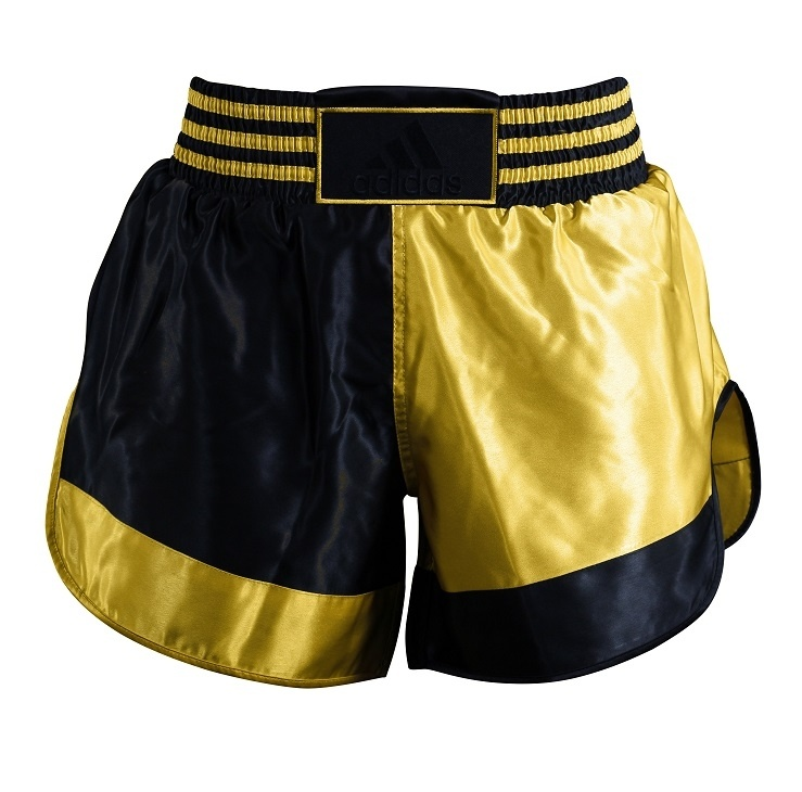 Adidas adidas Thai- en Kickboksshort Zwart/Goud