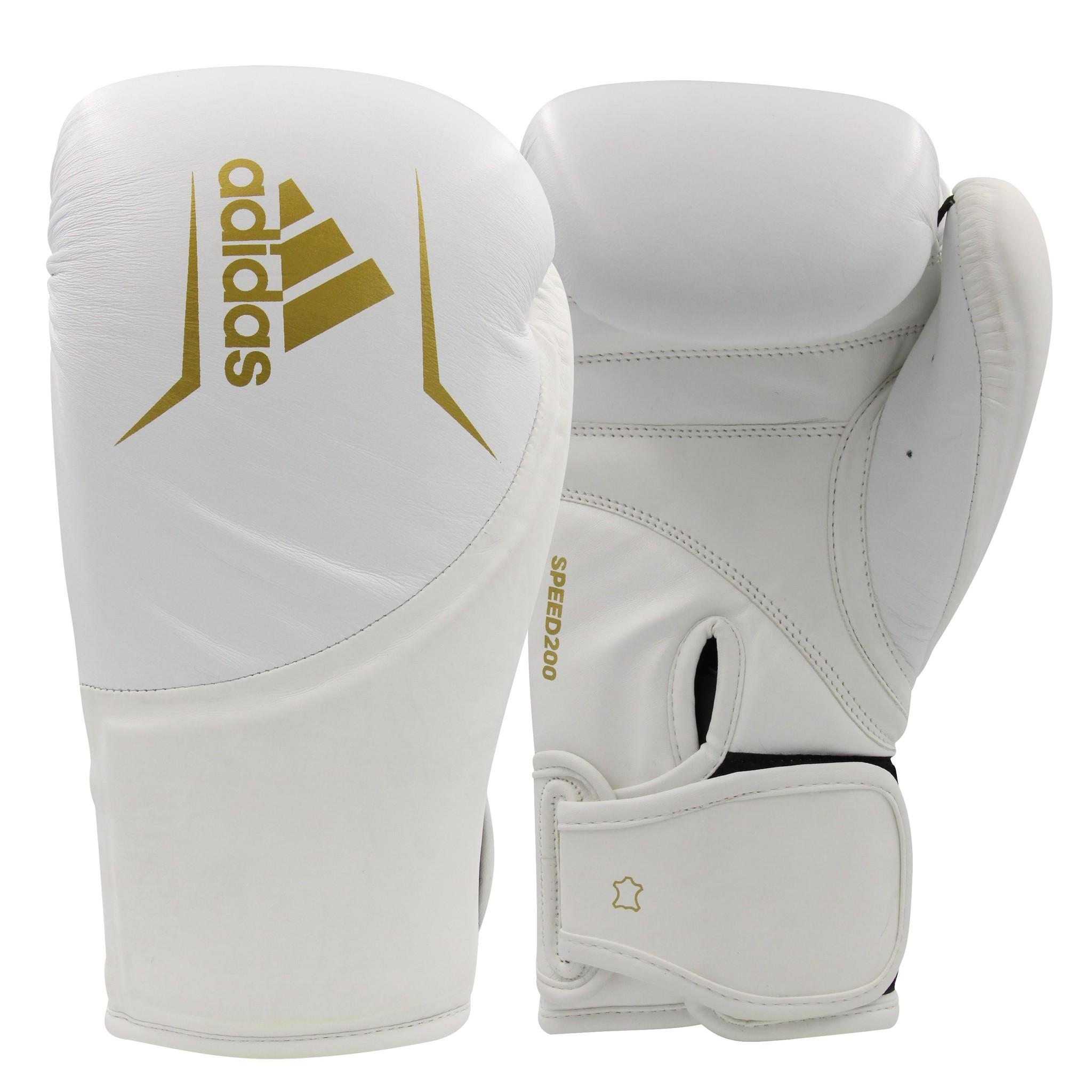 Adidas adidas Speed 200 (Kick)Bokshandschoenen Wit/Goud