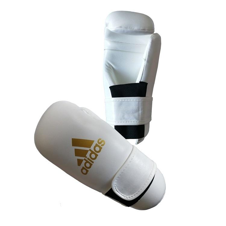 Adidas adidas Semi Contact Handschoenen Wit/Goud