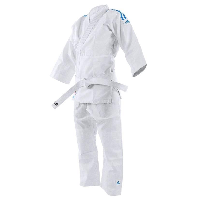 Adidas adidas Karatepak K200 Kids Wit/Blauw